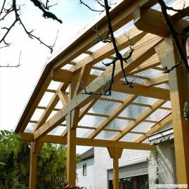 Terrassenüberdachung und Vordach
