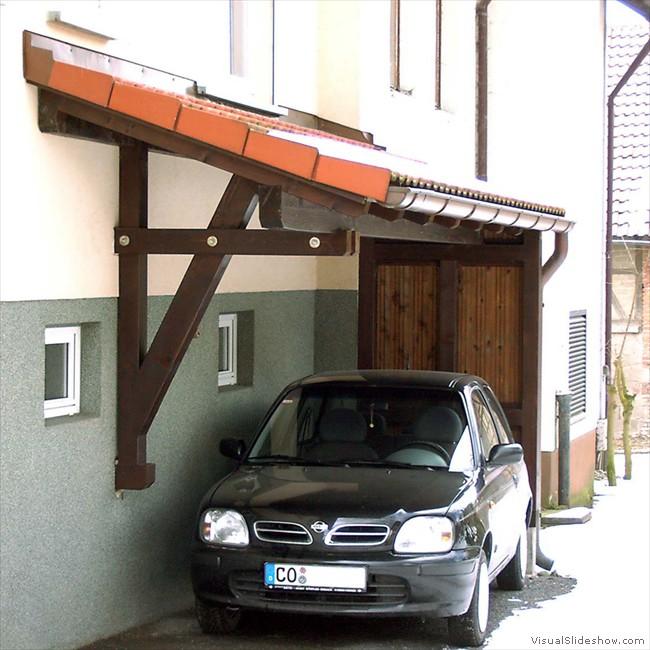 Zimmerei Carport